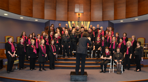 Winter concert, Dec. 2015, Temple Ohabei Shalom